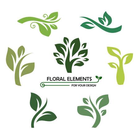 Twigs: floral elements