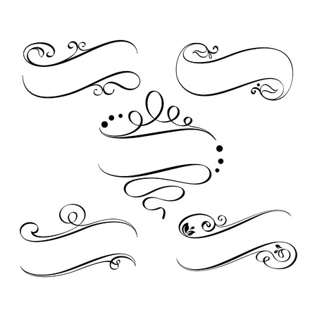 Calligraphic ribbons 2
