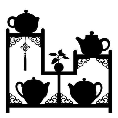 chinese tea: Teapots collection 1