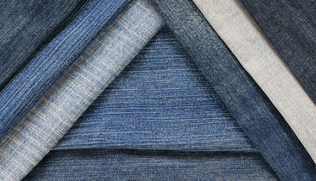 fashionable and stylish textured background with horizontal and diagonal stripes denim