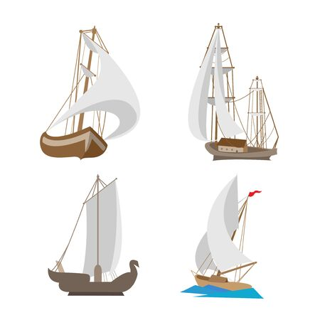 miniature toy travel ships