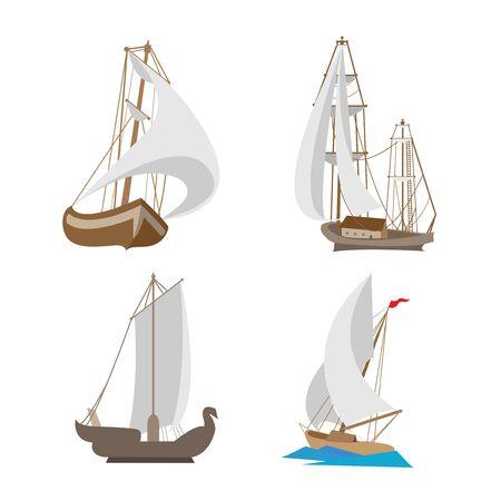Miniaturspielzeugreiseschiffe Standard-Bild - 96200839