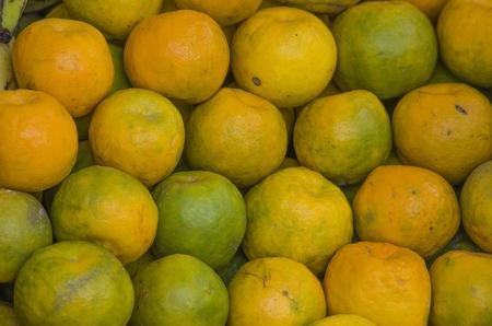 fruta tropical: mandarina frutas tropicales