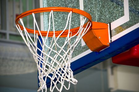 basketball ring with a grid, a sports equipment