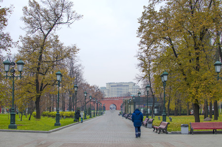 garden city: Garden Aleksandrovsky in the city of Moscow
