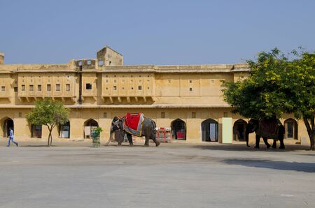 look inside: Istorical construction Ambers fort architecture a look inside