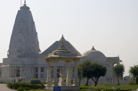 Architectural construction of the temple Birla Mandir to Jaipur India