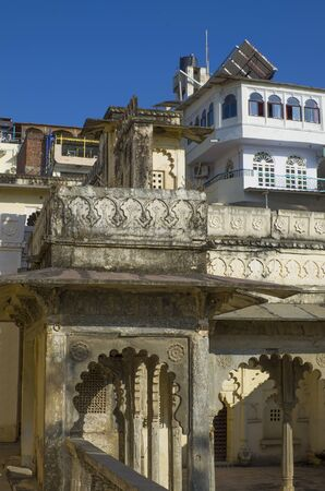 The museum building in India to Udaipur Bagore Ki Haveli