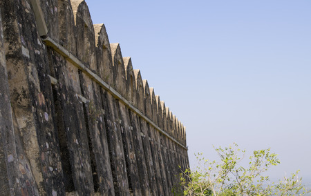Chittorgarh an ancient fort in India wall