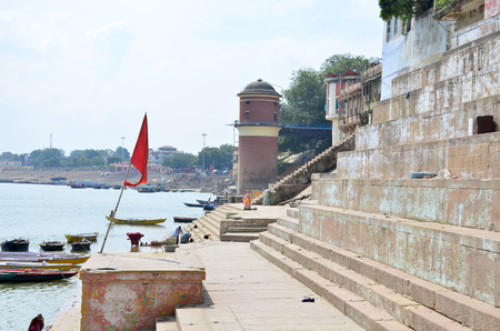 The landscape protected the Ganges River in India