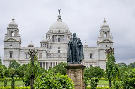 The palace in India to Kolkata Victoria Memorial Hall