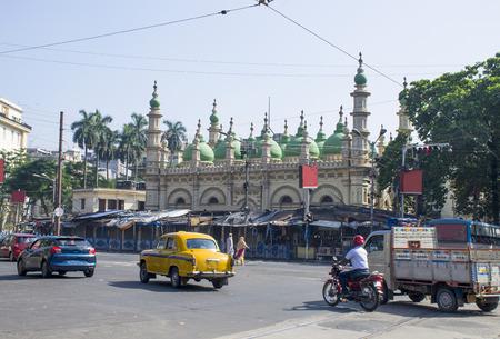 Beautiful landscape of the city of Kolkata in India