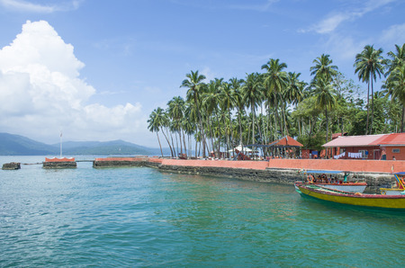 The beautiful landscape of Andaman and the Nicobar Islands in India 新闻类图片