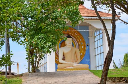 Buddha temple in Sri Lanka