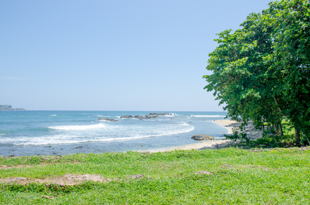 Landscape galle sri lanka indian ocean