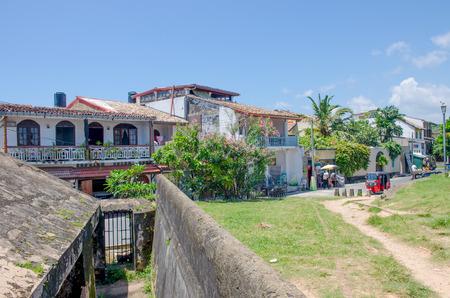 Galle fort in Sri Lanka