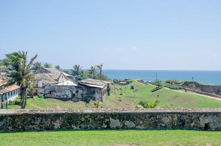 Galle fort landscape the Indian Ocean