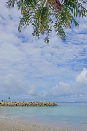 ocean coast on Maldives