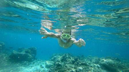 the Indian Ocean snorkeling