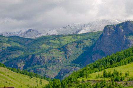 Beautiful landscape of Altai mountains North Chui ridge