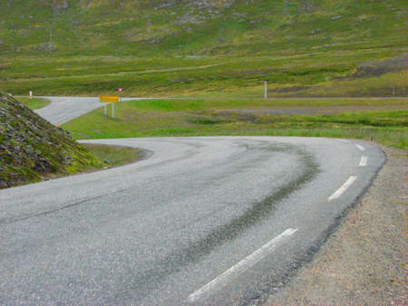 Norwegian highway photo