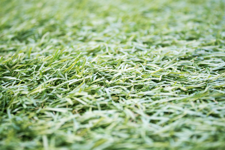 Artificial fondo de la hierba sintética Foto de archivo - 87971807