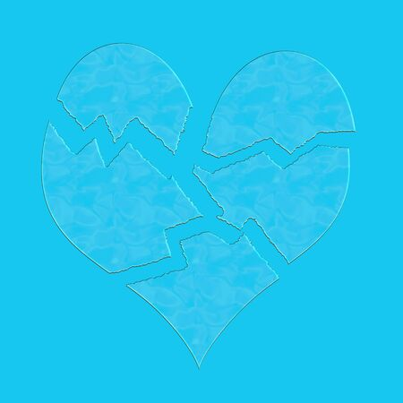 splinters: Broken heart