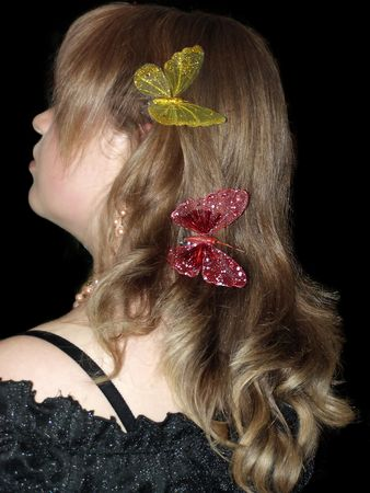 Hair style          Stock Photo - 3239456