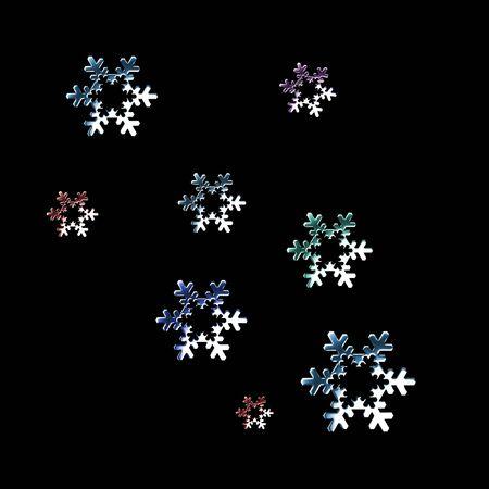 metal snowflakes Stock Photo - 3595822