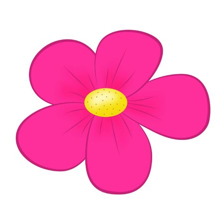 Pink flower isolated Stock Photo - 3736789