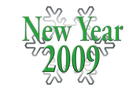 New year 2009 Stock Photo - 3779026