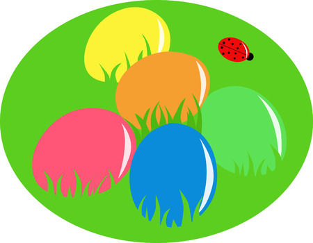 Easter eggs Stock Vector - 6330676