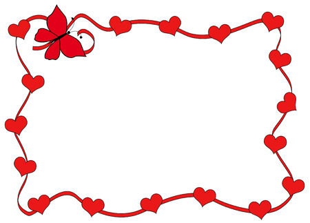 Valentine's card Stock Vector - 6407636