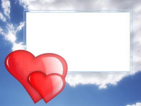 Frame for Valentine photo