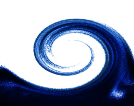whorls: abstract background with blue whorls like a wave