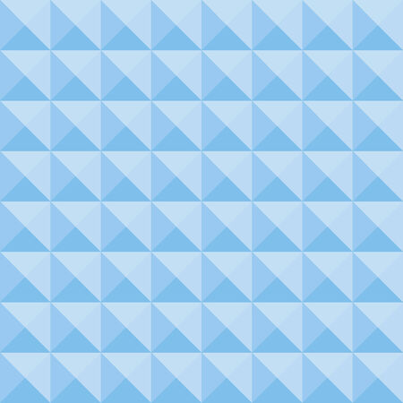 convex: Simple square convex geometric blue seamless pattern