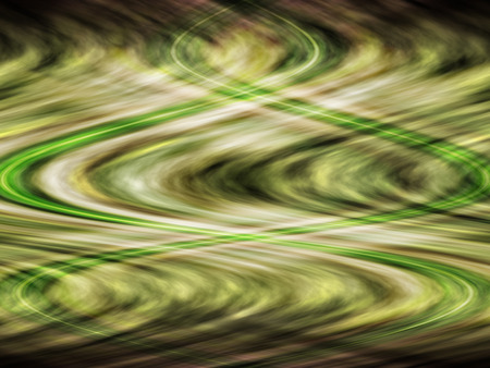 motley: Grim motley green abstract background with waves