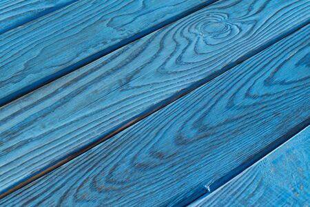 diagonally: Background of a blue boards arranged diagonally Stock Photo