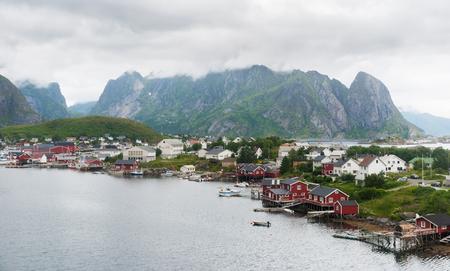 Reine is a fishing village on Lofoten archipelago, Nordland county, Norway