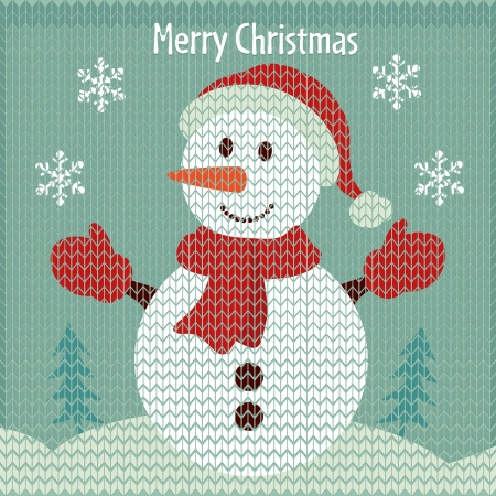 Christmas  snowman Stock Vector - 16270821