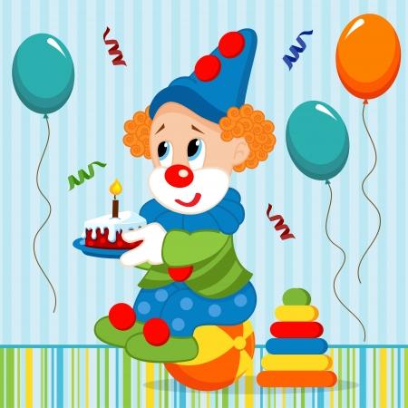 ridiculous: birthday baby, clown