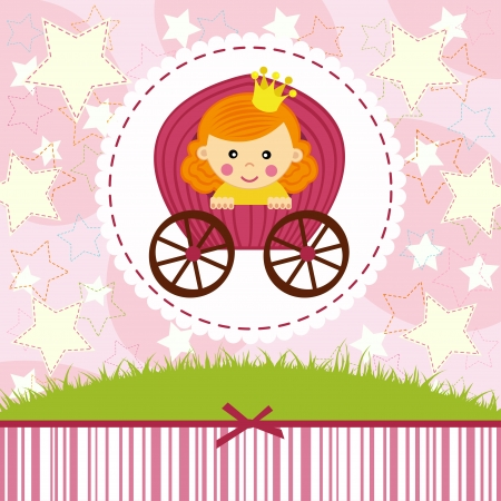 Babyprinzessin Illustration