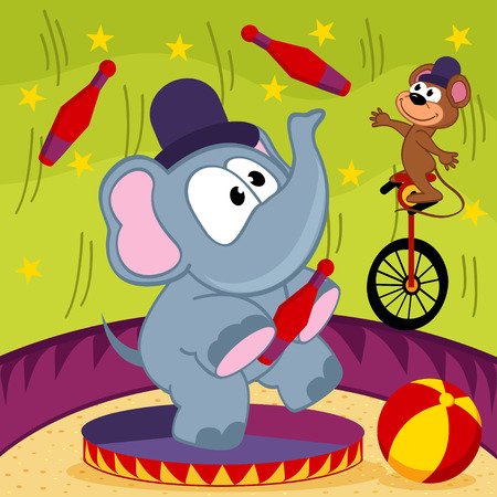 elephant and mouse circus
