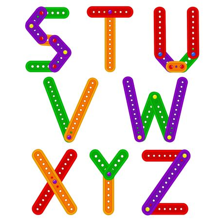 constructor: alphabet from constructor from S to Z