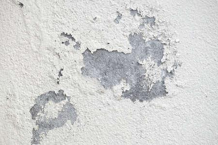 Old peeling plaster white wall texture Stock fotó