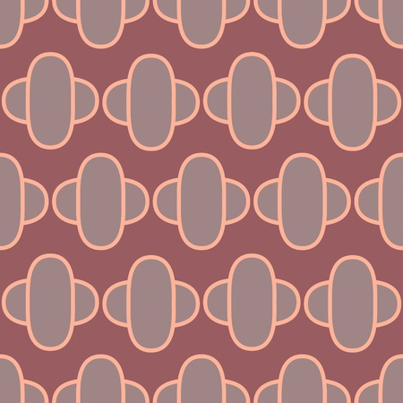 Seamless pattern with gray geometric shapes-vector
