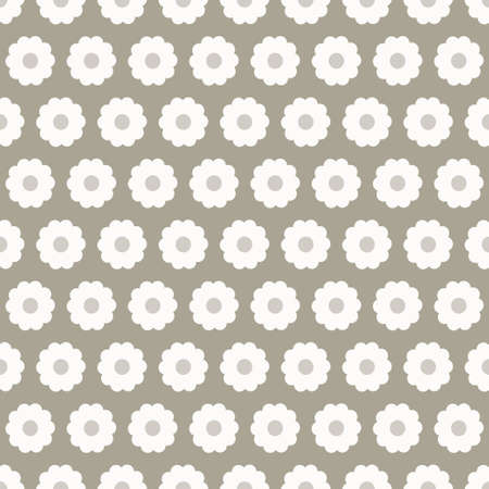 Gray floral seamless pattern-vector Stock Vector - 18119991