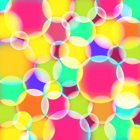 Abstract background with colorful circles-vector Vector
