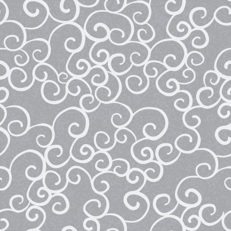 Gray abstract seamless pattern