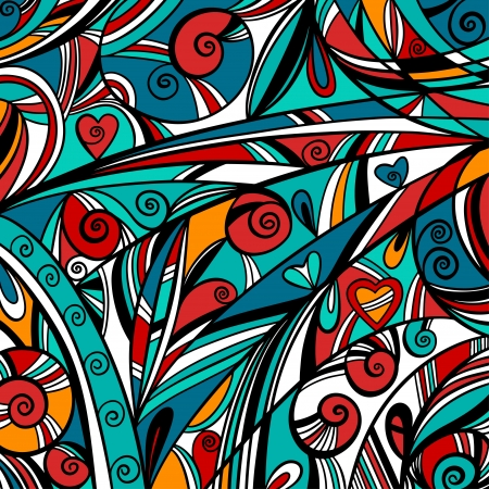 stained: Colorful abstract background - vector